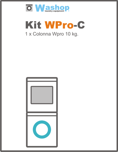 Kit WProC Colonna senza gettoniera